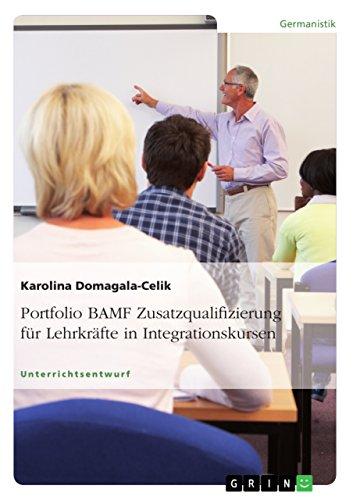 Portfolio BAMF Zusatzqualifizierung für Lehrkräfte in Integrationskursen