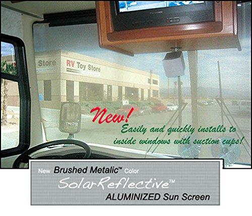 rv window covers Sunguard Solar Reflective Interior RV Windshield Covers 2 PC (54