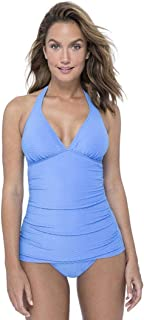 Profile by Gottex Women's Halter V-Neck Tankini Top Swimsuit