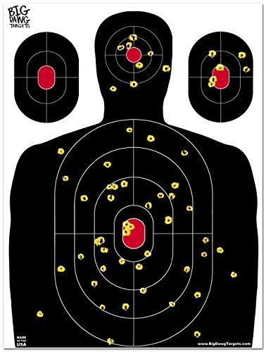 Big Dawg Targets - 18 X 24 Inch Silhouette Reactive Splatter Shooting Target