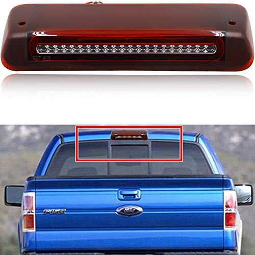 NJSBYL Luces de freno LED de montaje alto para Ford F-150 Lobo 2004-2008 y Ford Explorer Sport Trac…