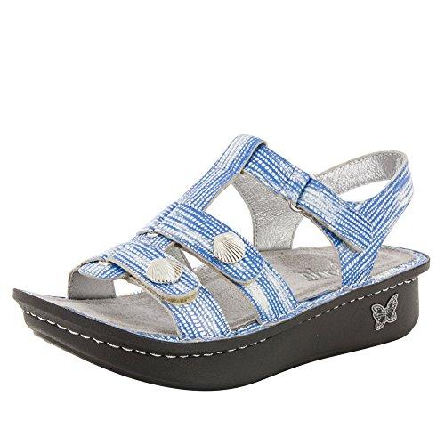 Alegria Womens Kleo Wrapture Blue Sandal - 41