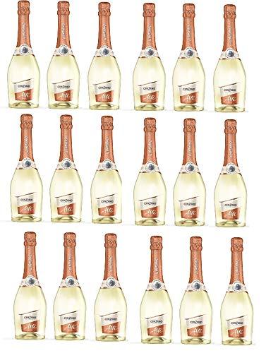 18 Flaschen Asti Cinzano DOCG Moscato a 750ml Vino Spumante dolce Großpaket (18 x 0.75 Liter)