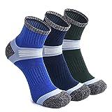 WEEKEND PENINSULA 3 Pares Calcetines de Deportivos Deporte Running Senderismo para Hombre y Mujer de Trekking y Montaña Trabajo de Antiampollas (M, Mezcla)