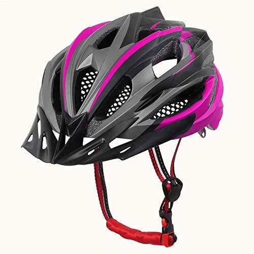 SFBBBO Casco Bicicleta Casco de Bicicleta In-Mold MTB Casco de Bicicleta Carretera Montaña Cascos de Bicicleta Gorra de Seguridad Hombres Mujeres X-TK-0503