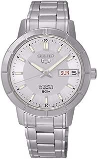 Seiko SNK899K1 - Reloj de Pulsera, Gris Metálico: Amazon.es ...