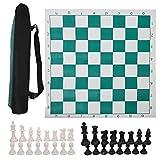Juego de Damas 45cm / 53cm Juego de Tablero de ajedrez...