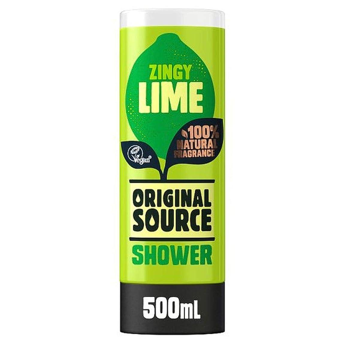 ぺディカブ移住する再集計[Original Source ] 元のソースライムシャワージェル500ミリリットル - Original Source Lime Shower Gel 500Ml [並行輸入品]