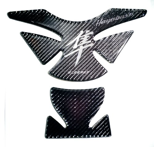 RZ Moto Suzuki Hayabusa GSX1300R Carbon Fiber Motorcycle Tank Protector Pad