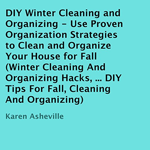 DIY Winter Cleaning and Organizing cover art