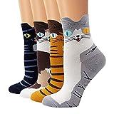 SmallYin Ambielly calcetines de algodón calcetines térmicos Adulto Unisex Calcetines