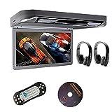 """Xtrons® 13.3"""" HD 1080P Video Car MPV Roof Flip Down Slim Overhead DVD"""