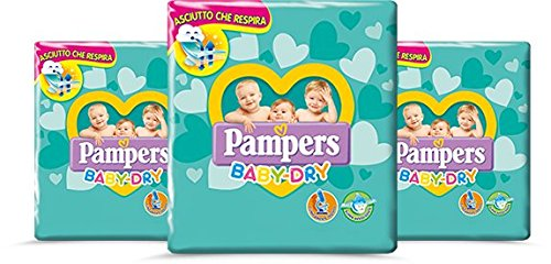 pampers baby dry tg 2 3-6 kg 72 pannolini