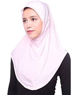Ice silk hijab Ice silk hijab NJGV Muslim Women Inner Hijab Headscarf Cap Islamic Full Cover Islamic Hat
