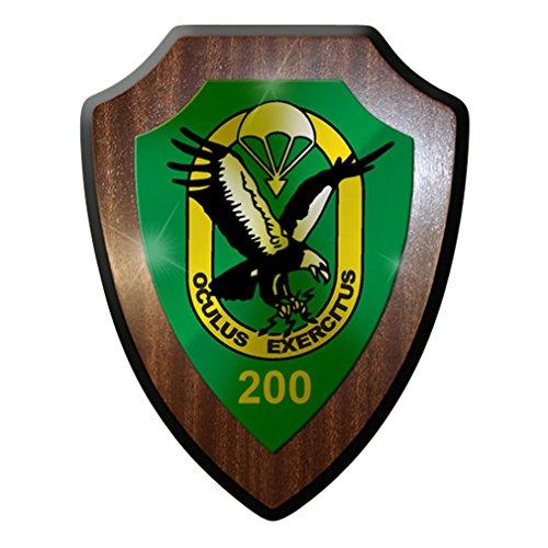 Wappenschild/Wandschild - Fespähkp 100 Fernspäh Kompanie Bundeswehr Dso #7352