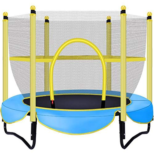 Trampolín Trampolin Pequeno,Trampolín Hexagonal para Niños De Uso En El Hogar, Cama Que Rebota De Entretenimiento Pequeña En Interiores, Equipo Deportivo Interactivo para Niños Adultos