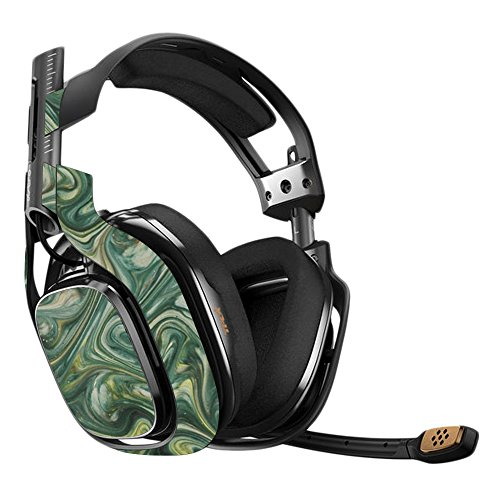 MightySkins Skin Compatible with Astro A40 3rd Generation Gaming Headset - Marble Swirl Protective, Durable, and Unique Vinyl Decal wrap Cover Easy to Apply, Remove, and Change Styles Made in The USA