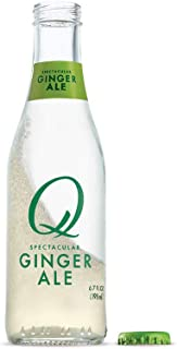 Q Mixers Ginger Ale, Premium Cocktail Mixer, 6.7 oz (24 Bottles)