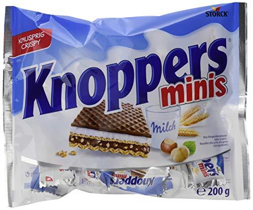 Knoppers, das Frühstückchen – und alles ist drin! Knoppers Minis – 12er Pack (12 x 200g Beutel)