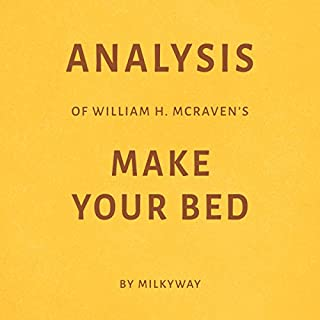 Analysis of William H. McRaven's Make Your Bed cover art