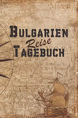 Bulgarien Reise Tagebuch: 6x9 Reise Journal I Notizbuch mit Checklisten zum Ausfüllen I Perfektes Geschenk für den Trip nach Bulgarien für jeden Reisenden