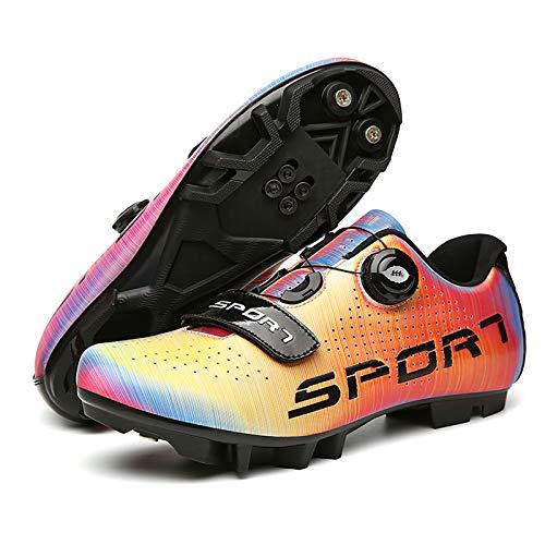 XKUN 【Nuevo 2021】 Zapatillas de Ciclismo Extreme 3.0 MTB,con Suela de Carbono...