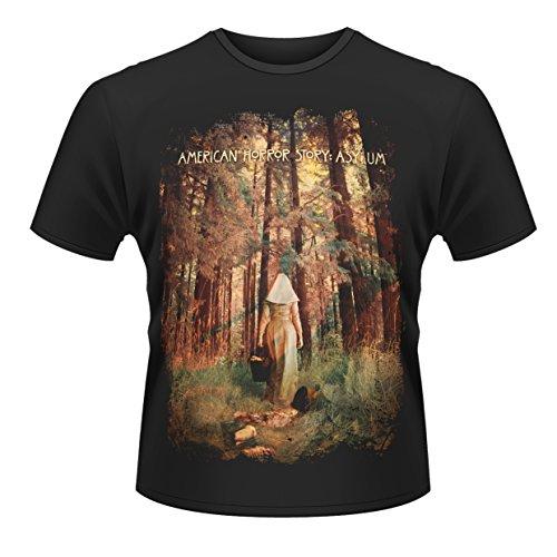 Plastic Head American Horror Story Asylum T-Shirt, Noir-Noir, Moyen Homme