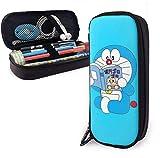 Doraemon Lectura Gran capacidad Estuche de lápices Estuche de cuero Estuche para papelería Bolsa...