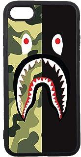 JNKPOAI Bape Shark iPhone 7/8 Case Soft Elastic TPU Case Rubber Silicone Case iPhone 7/8 Back Cover