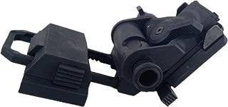 Loglife Tactical Helmet Parts L4G24 L4G19 NVG Mount 100% Plastic for Night Vision Cosplay PVS15 PVS18 GPNVG18 No Function Black DE