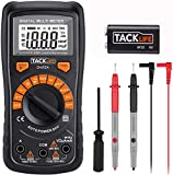 Multimeter, Tacklife DM02A Digital Multi Tester Auto-ranging Electrical Tester Portable Voltmeter Ammeter...