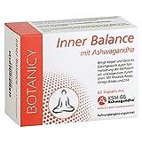 INNER BALANCE, mit Ashwagandha KSM-66, gegen Stress und innere Unruhe, mit Ginkgo Biloba, Folsäure...