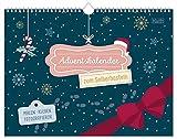 Calendario dell'Avvento A4 + da personalizzare | Calendario fotografico, calendario fai da te, calendario creativo – rende felici i tuoi cari per l'Avvento sostenibile e ecologico