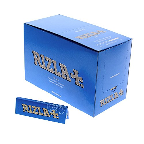 Rizla Standard blau Box mit 100Broschüren