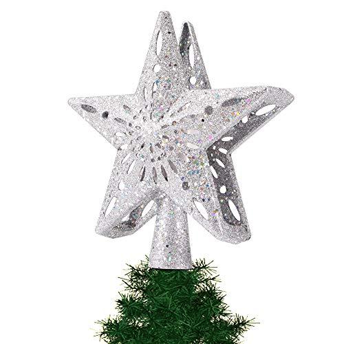 AOZBZ Estrella de árbol de Navidad con Luces de proyector ...