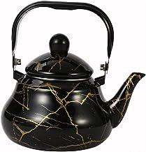 OSALADI Herbata czajnik elektryczny wzór marmuru woda czajnik do kawy garnek do herbaty czajnik elektryczny do domu wiejsk...