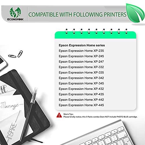 EconomInk - Cartucho de tinta compatible con Epson 29 XL 29XL (B, C, M, Y) para usar con Epson Expression Home XP-235 XP-247 XP-255 XP-335 XP-342 XP-345 XP-352 XP-355