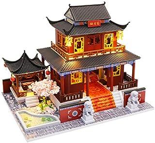 Eternal Love- Miniature Dollhouse DIY kit, Mini House Assembly kit