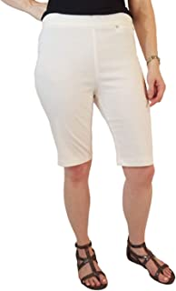 Rafaella Comfort Pull-On Bermuda Shorts