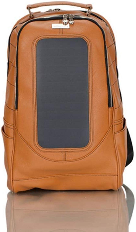 Aufladungsrucksack des Multifunktionssolar USB-Handys, wasserdichter im Freienreiserucksack (Farbe     Orange, größe   One Größe) B07QFM1WFD  Preisrotuktion c35815