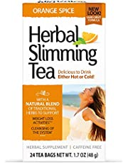 21st Century Slimming Tea, Orange Spice, 1.6 Ounce, 24 Count