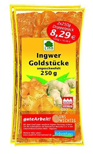 Ingwer. Goldstücke im Doppelpack (0.5 Kg)
