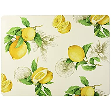 Benson Mills Lemon Cork Placemat (Set of 4), Ivory