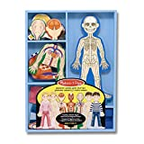 Melissa & Doug Magnetic Human Body Anatomy Play Set With 24 Magnetic Pieces and Storage Tray from Melissa & Doug