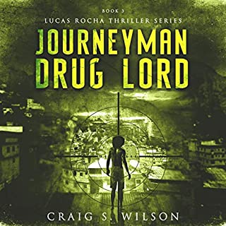 Journeyman Drug Lord  audiobook cover art