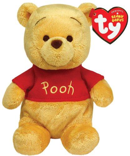 Ty Beanie Buddies Winnie The Pooh Plush, Classic Bear, Medium by Ty Beanie Buddies