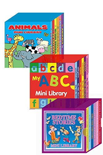 Mini Library Board Books Bumper Gift Pack for Toddlers, Children, Babies -...