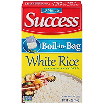 Success Boil in Bag Long Grain White Rice, 14 oz