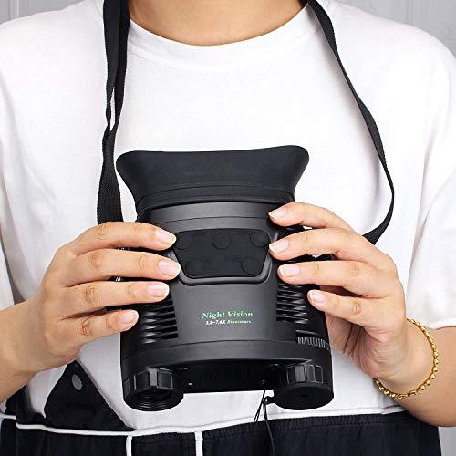 SOLOMARKナイトビジョン暗視スコープ赤外線望遠鏡デジタル暗視鏡双眼鏡250M/820FT7.6倍の倍率日本語取扱説明書付き