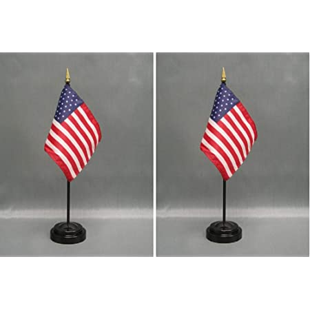 """LOT OF 12 Tennessee 4/""""x6/"""" Miniature State Desk//Table Flags With Flag Stands"""